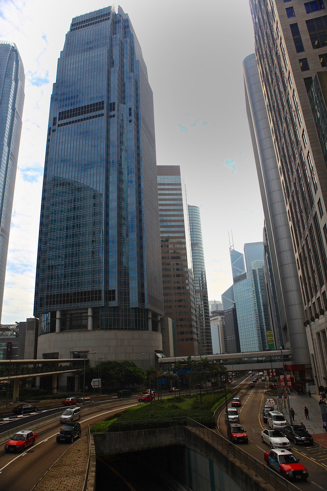 There are 1,223 skyscrapers in Hong Kong, which puts the city at the top of world rankings. It has more buildings higher than 500 ft (or 150m) than any other city.