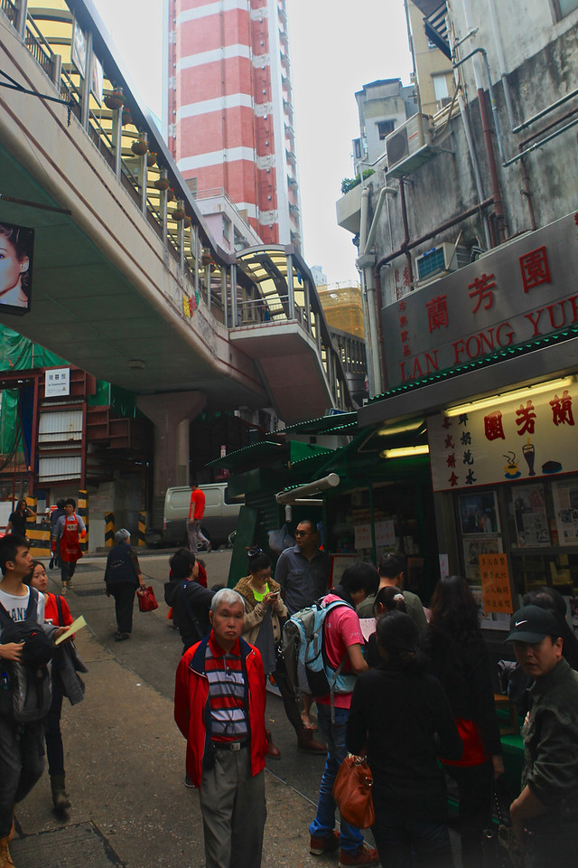 The Central–Mid-levels escalators in Hong Kong is the longest outdoor covered escalator system in the world. The entire system covers over 800 metres in distance and elevates over 135 metres from bottom to top.  It was constructed in 1993 to provide a better commute by linking areas within the Central and Western District on Hong Kong.