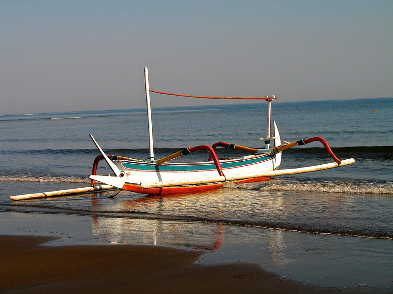 Traditional bailnese boat.