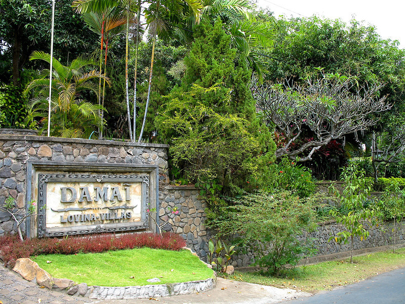 We arrive at Damai Villas in Lovina in north central Bali.