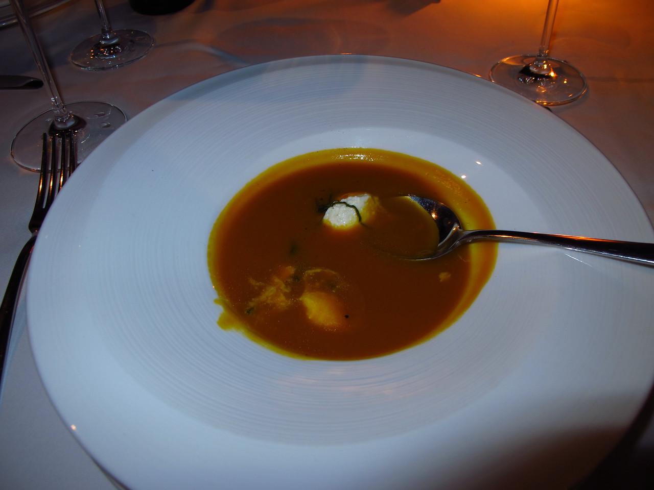 ..tomato soup...