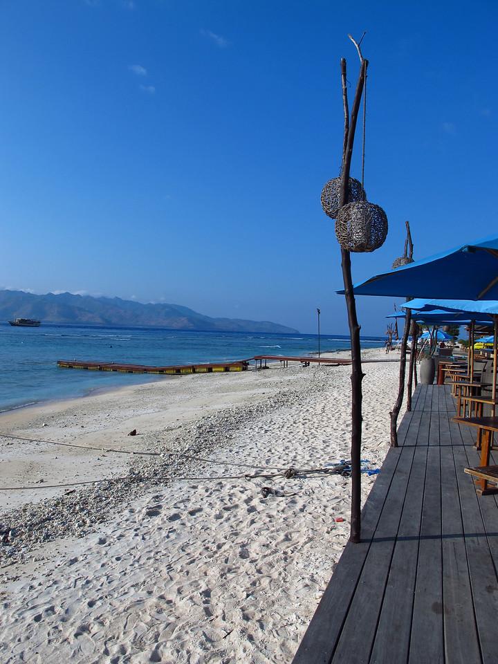 Terwangen has clean white sand beaches
