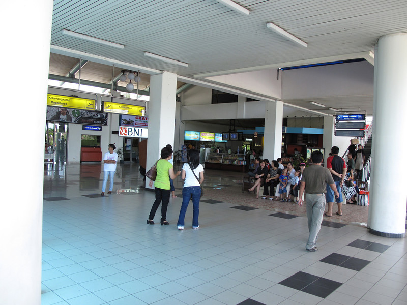 The airport is rather small, so in a matter of minutes after getting your visa, you're ready to go.