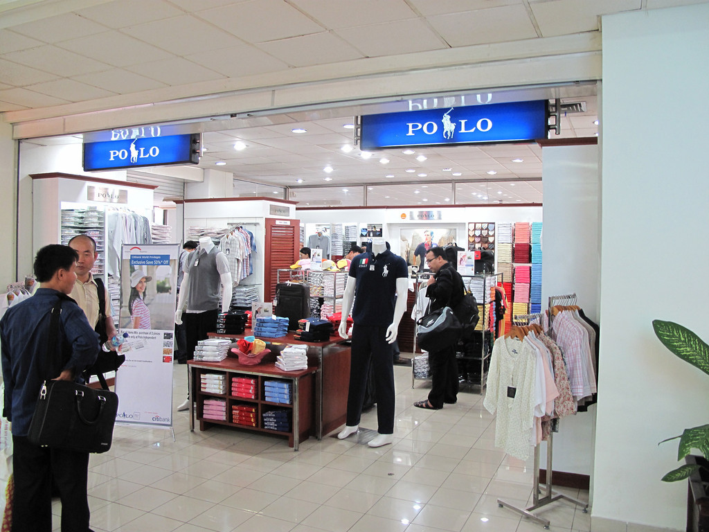"We doubt if this is a ""authentic"" Polo outlet, but there's one in the Manado airport, nonetheless."