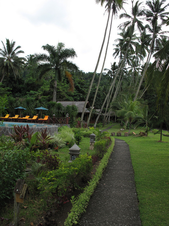 The resort is very small with less than 15 rooms.  It sits on the site of an old coconut plantation.
