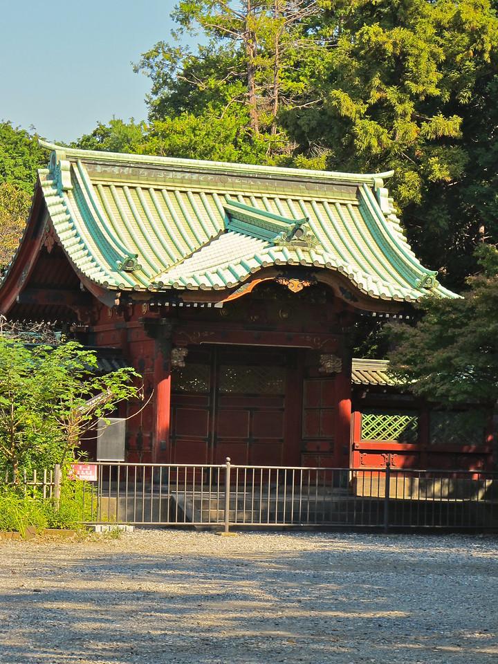 Tokugawa Shogun Mausoleum is not far from the temple.