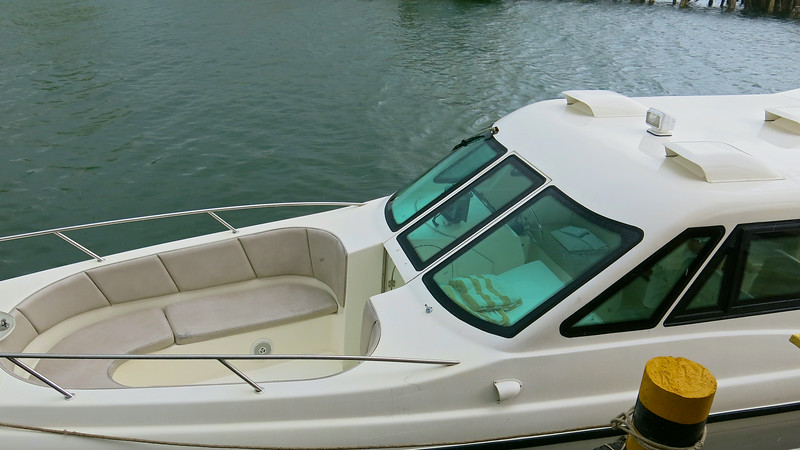 The speedboat transfer to Song Saa, our resort takes about 35-45 minutes, depending upon the weather.