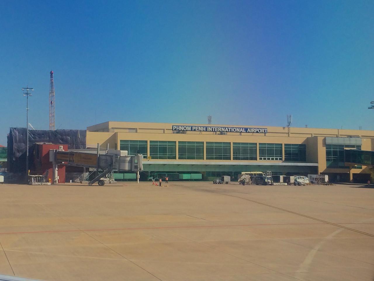 The Phnom Penh airport handles over 2 million passengers per year.