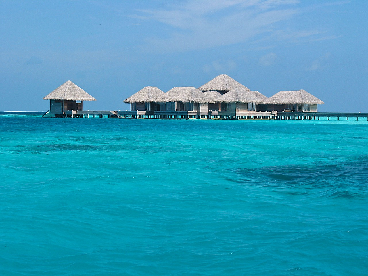 Spa facilities are located over the water and Huvafen was one of the first in the Maldives with a completely underwater treatment room.