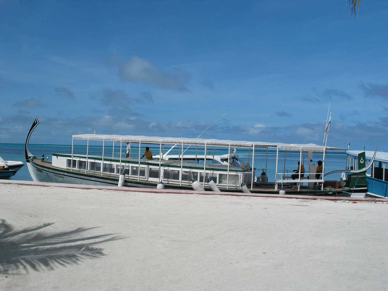Most resorts offer direct pickup at the Maldives Airport.  Most tourists never venture into Male.  Traditional boats can take you for a day trip into Male.  Overnight stays in Male are tightly controlled by the government.