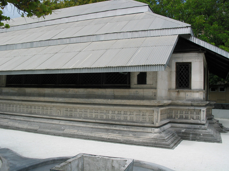 Built in 1658 AD, by the then Sultan of the Maldives, the Friday Mosque is a unique example of meticulous coral stone architecture and detailed lacquer work. Built within a span of two years, the Male' Hukuru Miskiy or The Friday Mosque of Male' represents one of the most prolific pieces of local artistic expression. Admired by locally and internationally, the Mosque is surrounded by a graveyard dating back to the late 17th century.