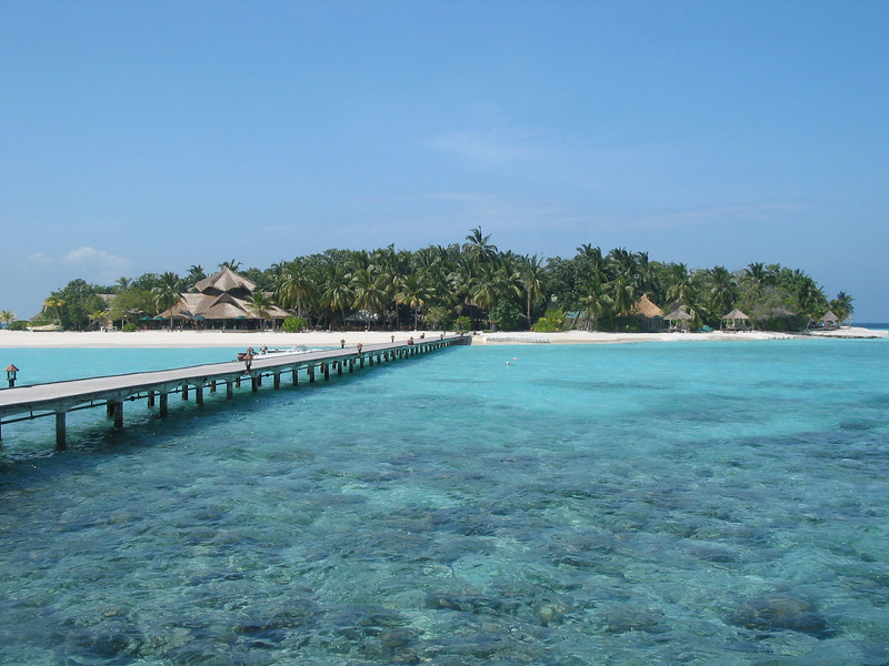 Banyan Tree has 48 villas spread over the island.