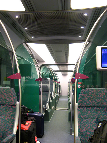 The trains are very nice and you can arrange for concierge service at beginning and end to help you with your bags and get transportation once you reach the city.
