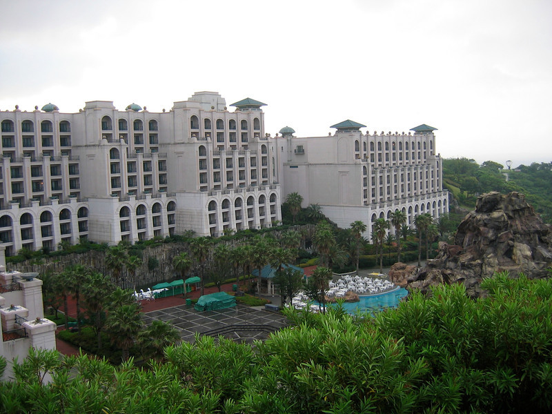 The Lotte is another large property and a 5 star hotel.