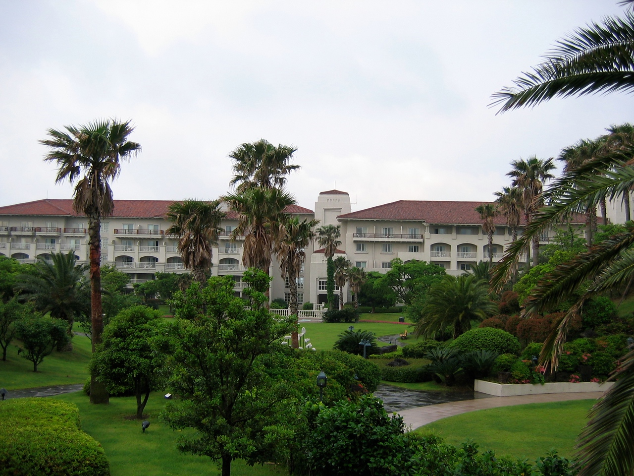 The Shilla is one of the largest hotels on Jeju.