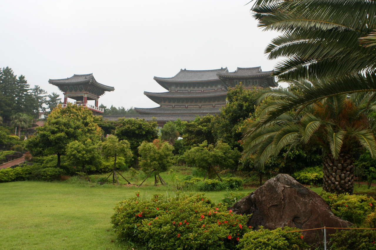 Yakcheon-sa Temple - Construction started in 1930.  It is located just outside of Seogwipo