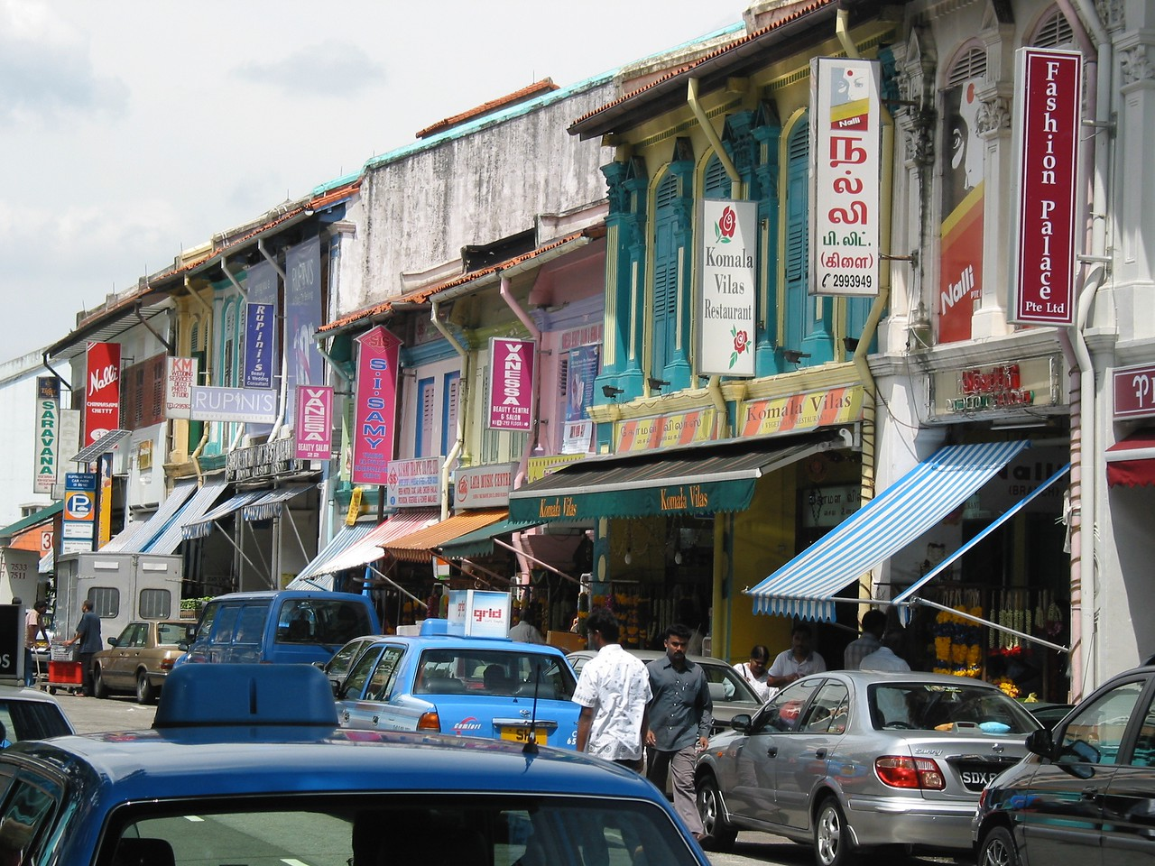 "In the early 1800s, Singapore was divided into ethnic zones.  While that's no longer true today, the ethnic neighborhoods still exist.  This area is known as the ""Little India"" district where you can find great food as well as fresh spices."