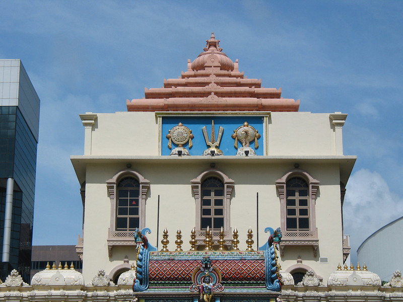 From its inception, Sri Mariamman Temple served as a refuge for new immigrants, particularly South Indian Tamil Hindus. Besides providing an important place of worship for these immigrants, the temple granted them shelter until they found work and more permanent accommodation. Historically, the temple was the Registry of Marriages for Hindus.