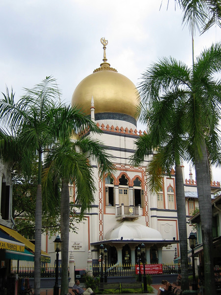 With its massive golden dome and huge prayer hall, the Sultan Mosque is one of Singapore's most imposing religious buildings, and the focal point of Muslims in Singapore.