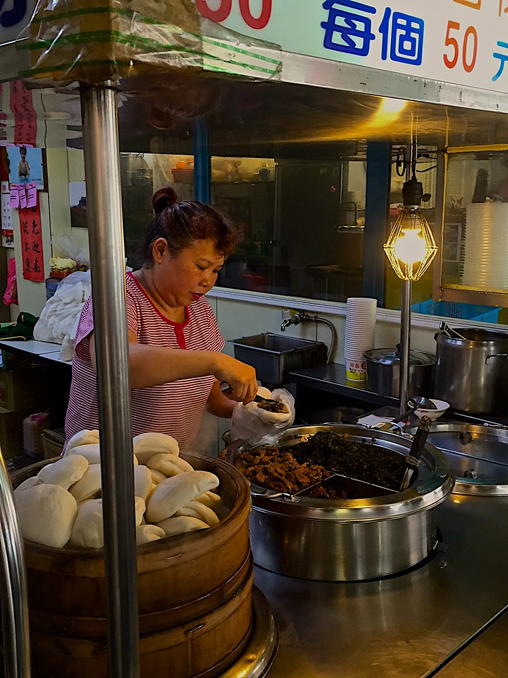 Just a couple stalls down is a great little place for gua bao.
