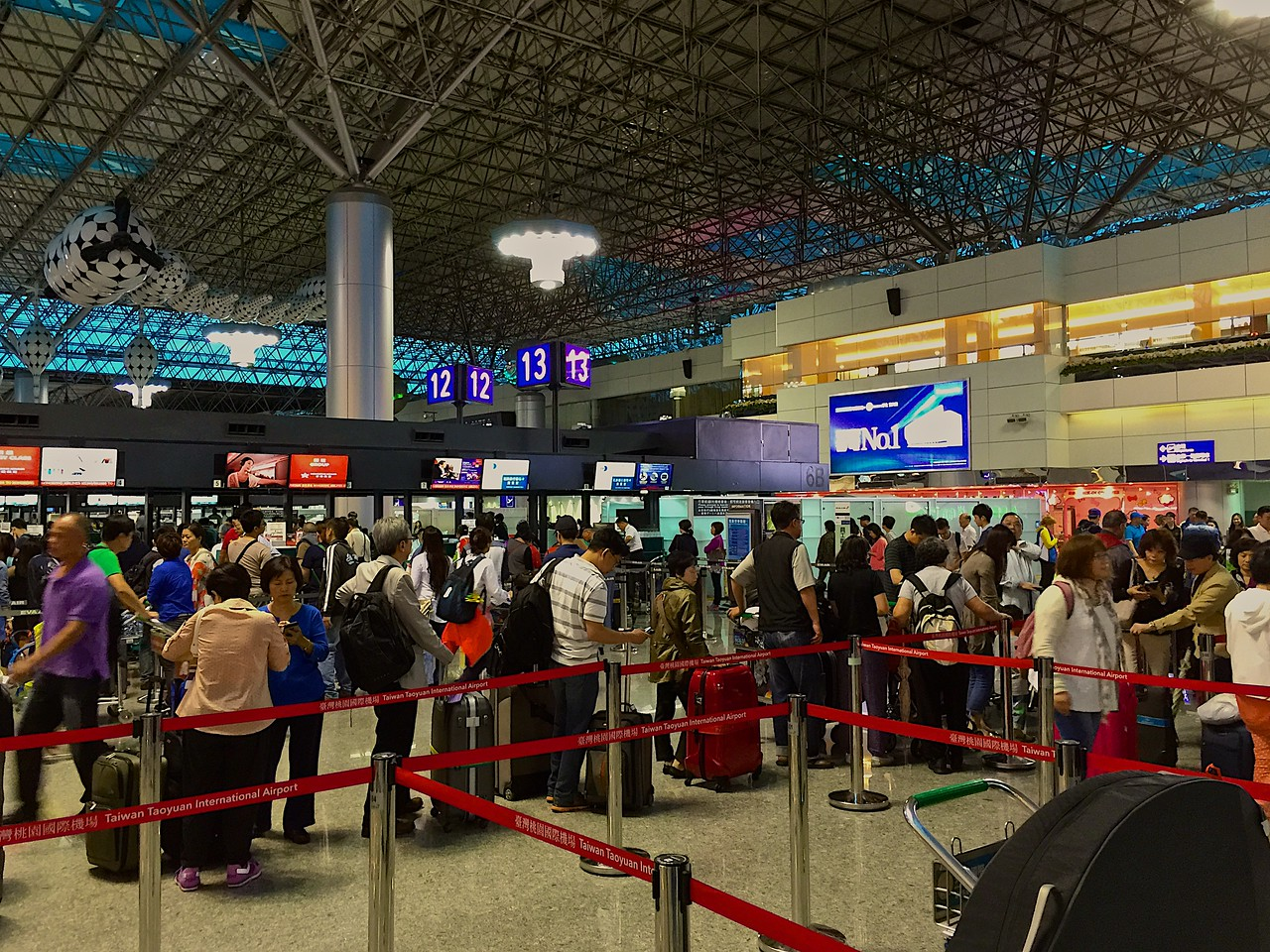 Taiwan Taoyuan was the 11th busiest airport worldwide in terms of international passengers number and 5th busiest in international freight traffic in 2014.
