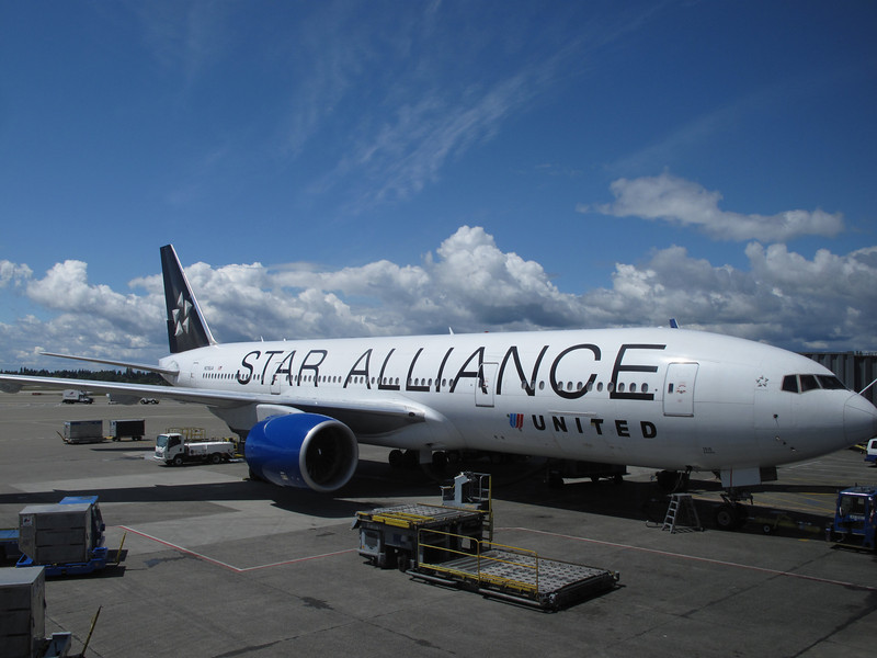 From Seattle to Narita, we took United's 777 Star Alliance plane.