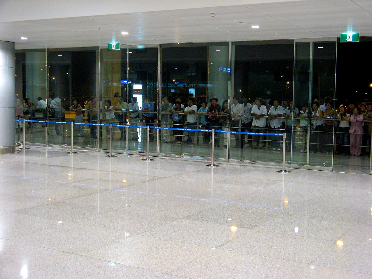 After clearing customs at Ho Chi Minh.