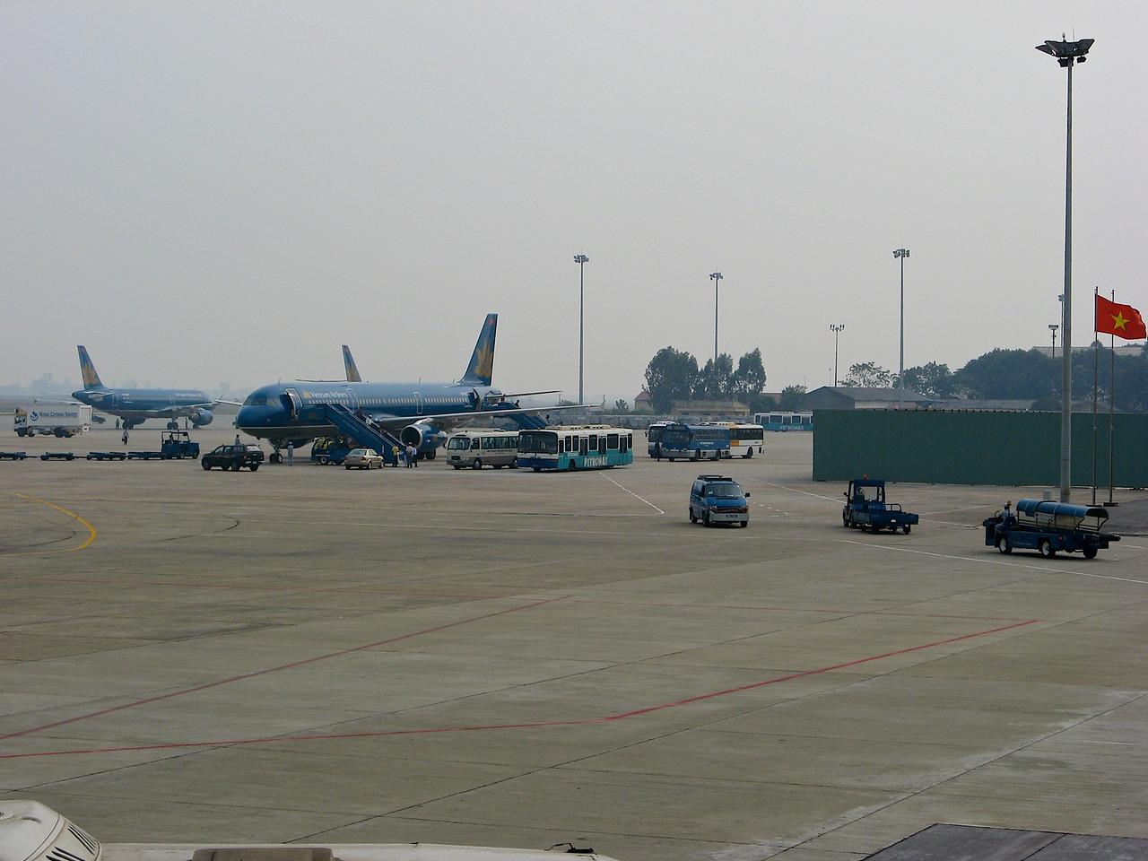 Vietnam Airways is the single airline within Vietnam.