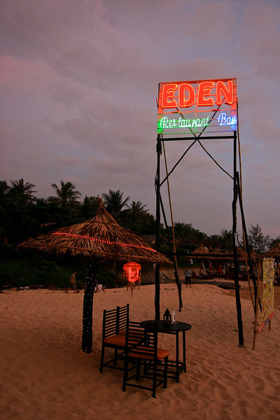 Right next door to the hotel, is the Eden Restaurant and Bar