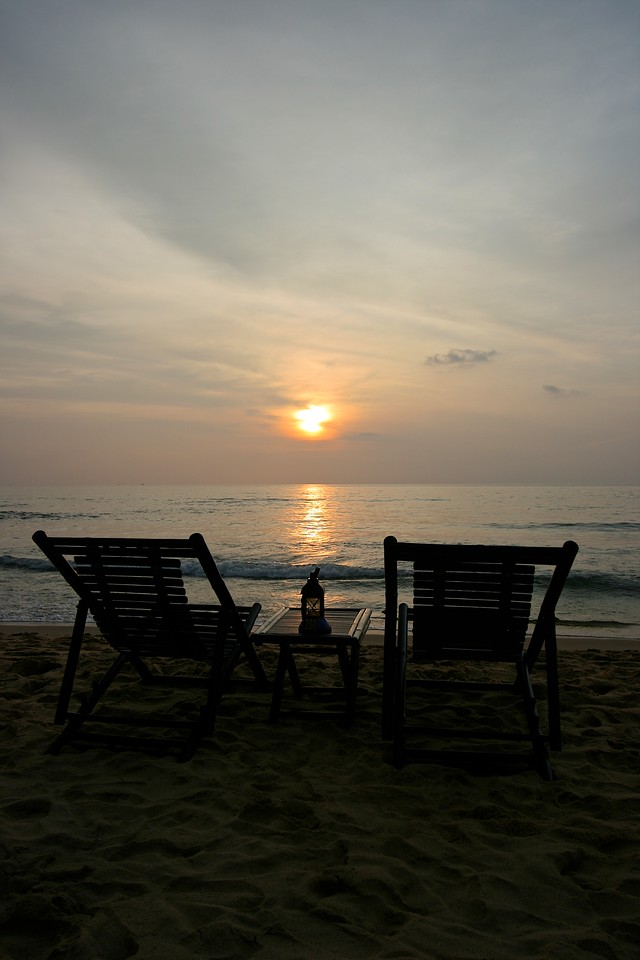 It's the perfect place to watch the sunset each evening.