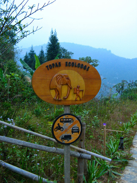 During our stay in Sapa, we stayed a few miles outside of town at the Topas Ecolodge.