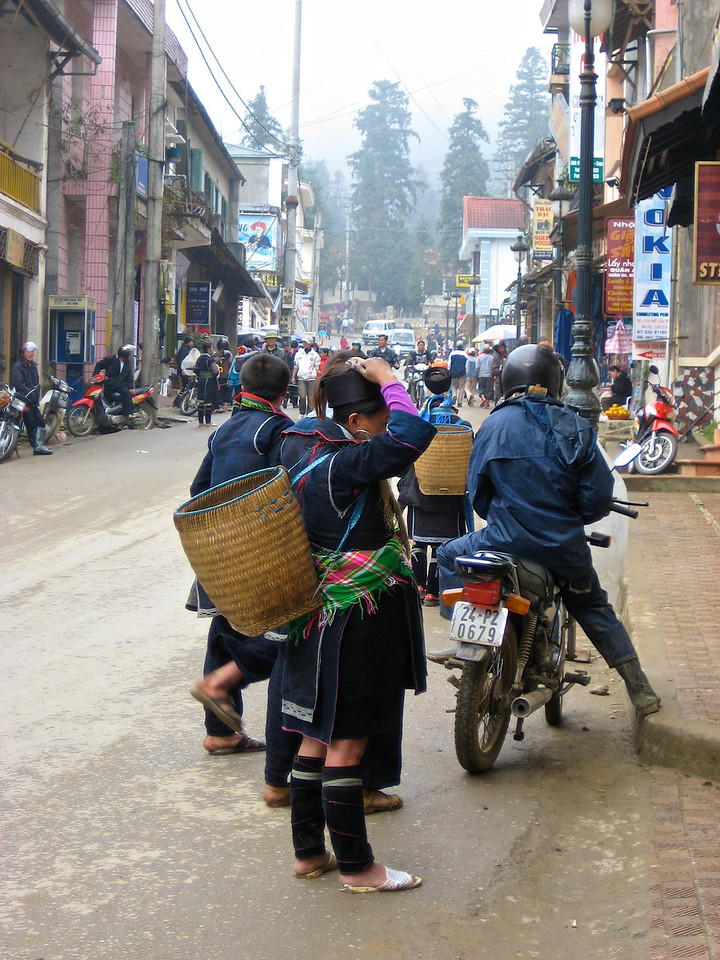 Sa Pa is one of the largest towns in NW Vietnam.