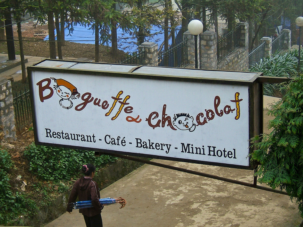Baguette Chocolat is a great place to stop for lunch.