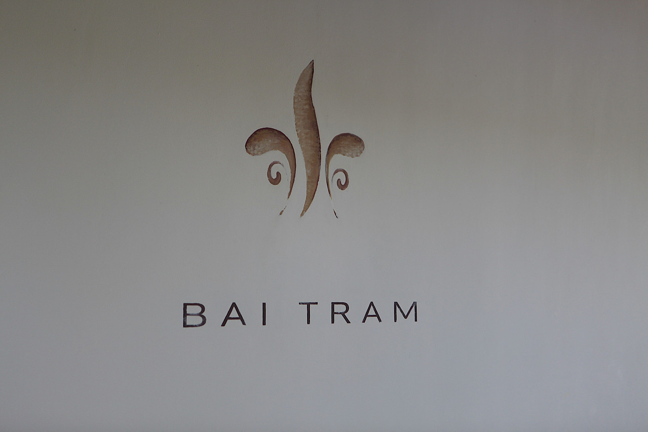 Bai Tram is very small.  With just the seven villas, 4 of which are beach front, you barely see any of the other guests.