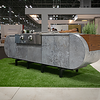 ASA-D2 at ICFF 2018 Powder Coated  in the Dekton Orix Color