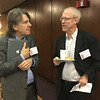 John Carvalho and Richard Eldridge<br /> Photo: CF