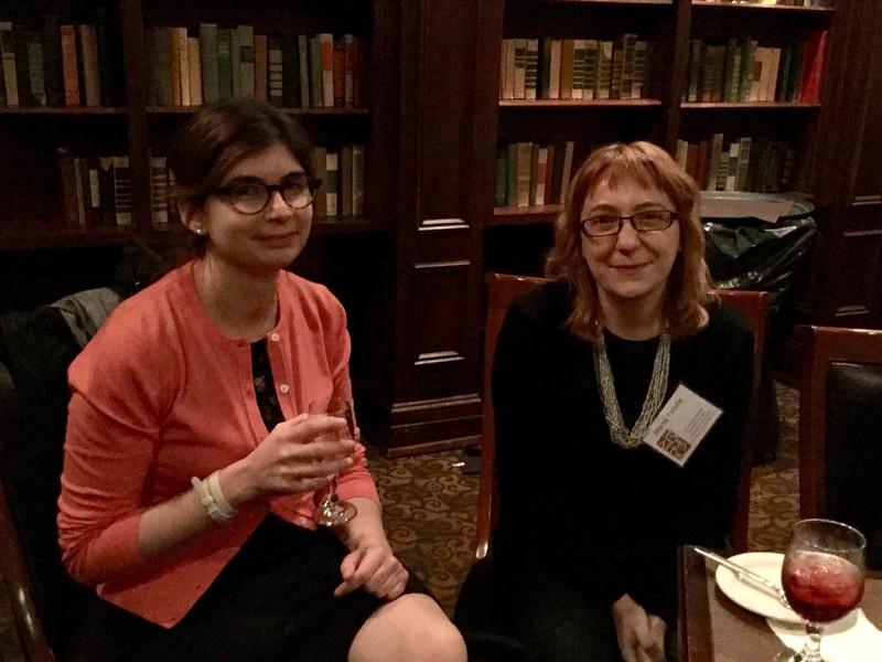 Elisa Caldarola and Marta Tafalla<br /> Photo: CF