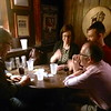 Rob Hopkins, Kate Thomson-Jones, Nick Riggle, Derek Matravers<br /> Photo: Shelby Moser
