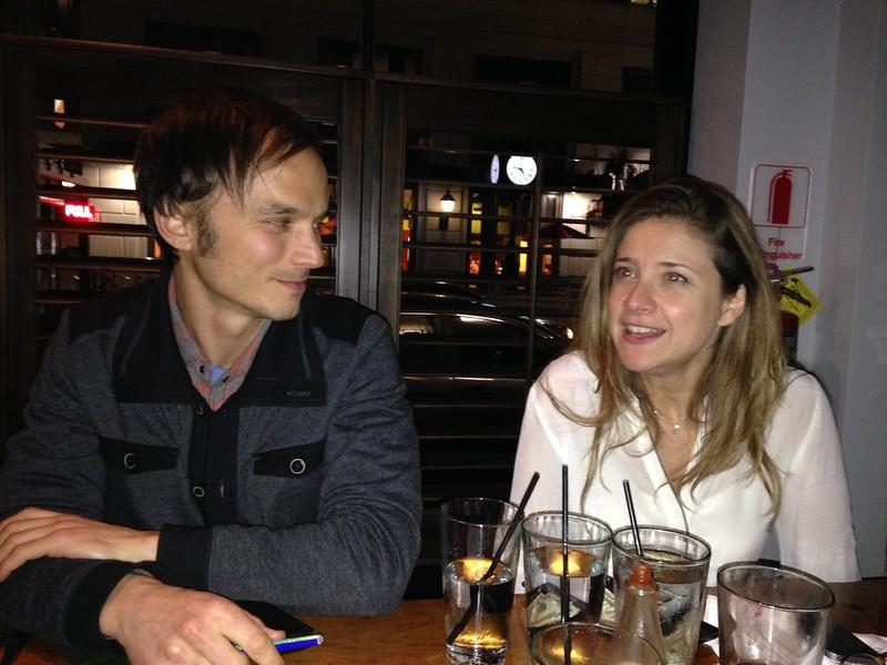 Jason Leddington and Paloma Atencia-Linares<br /> Photo: JL