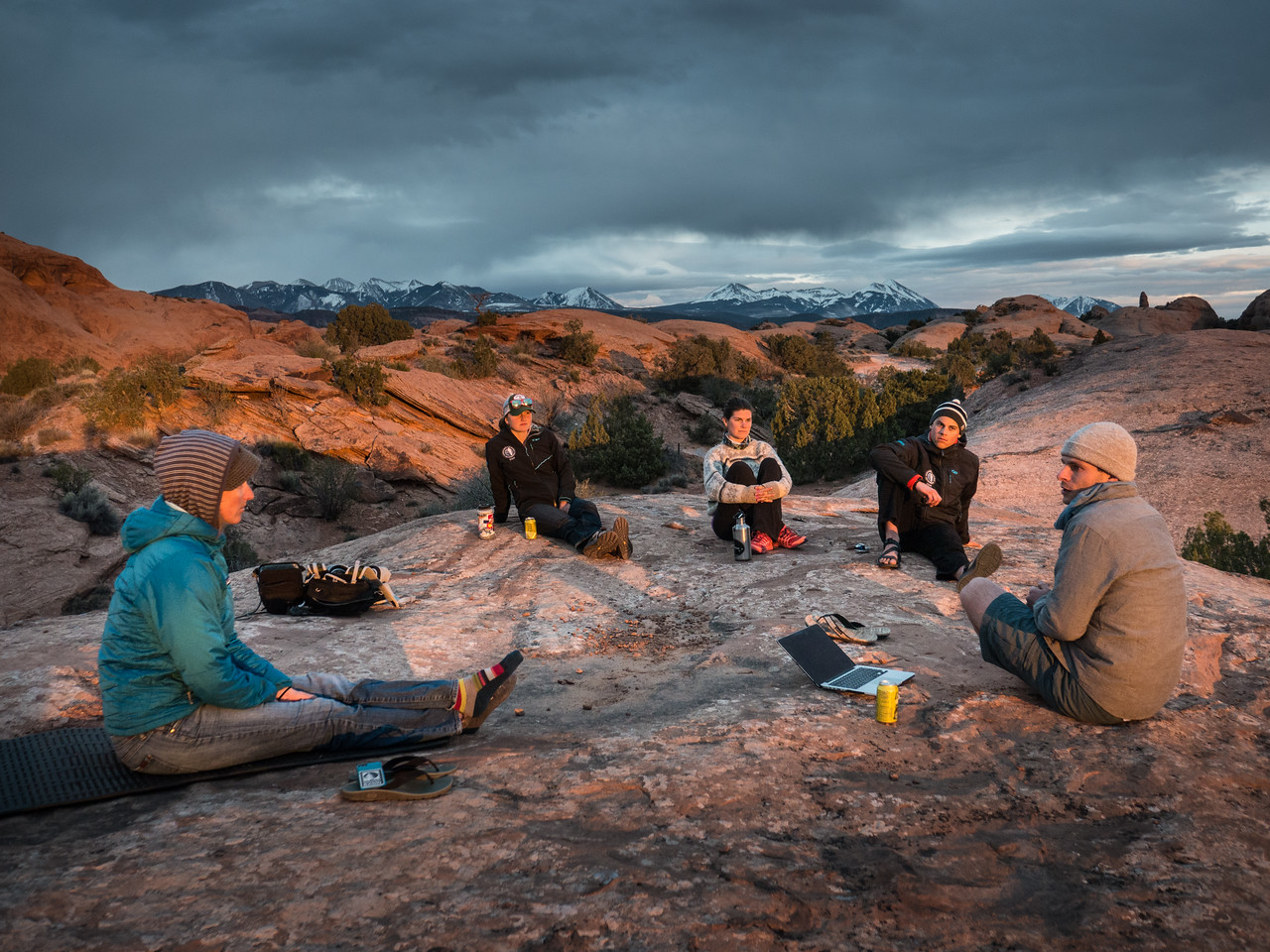 moab, staff retreat