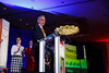 Daniel F. Hayes, MD, FACP, FASCO speaks during Conquer Cancer Foundation Dinner