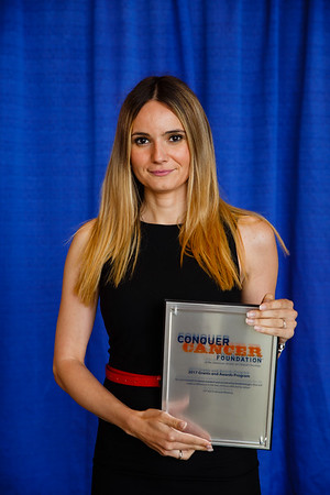 2017 IDEA Recipient Simonida Bobic, MD, during the 2017 Grants & Awards Ceremony and Reception