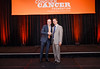 2017 Young Investigator Award Recipient Joshua Gruber, MD, PhD  with Thomas G. Roberts, Jr., MD, Chair of the Conquer Cancer Foundation Board of Directors, during 2017 Grants & Awards Ceremony and Reception