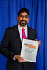 2017 Young Investigator Award Recipient Prasanna Alluri, MD, PhD, during 2017 Grants & Awards Ceremony and Reception