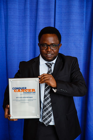 2017 IDEA Recipient Shakilu Jumanne Kayungo, MD, during 2017 Grants & Awards Ceremony and Reception