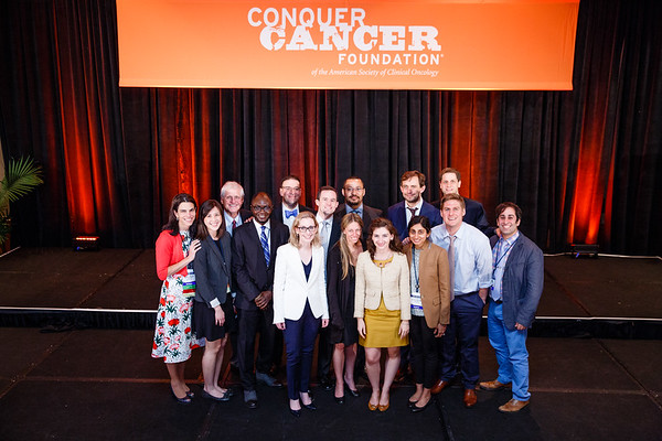 2017 Conquer Cancer Foundation Grant and Award Recipients during 2017 Grants & Awards Ceremony and Reception