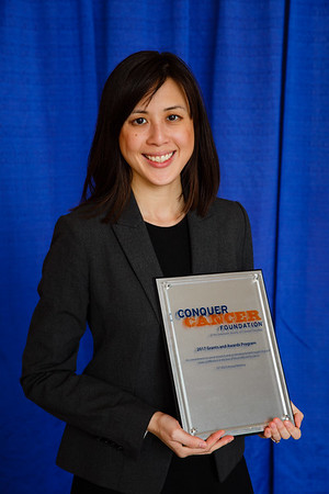 2017 Young Investigator Award Recipient Wei-Chu Victoria Lai, MD, during 2017 Grants & Awards Ceremony and Reception