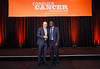 2017 Resident Travel Award Recipient Abiodun Adefurin, MBBS with Thomas G. Roberts, Jr., MD, Chair of the Conquer Cancer Foundation Board of Directors, during 2017 Grants & Awards Ceremony and Reception