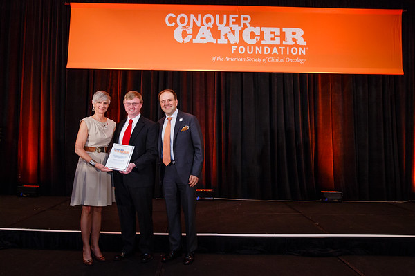 2017 Conquer Cancer Foundation Grant and Award Recipients supported by the Breast Cancer Research Foundation during 2017 Grants & Awards Ceremony and Reception