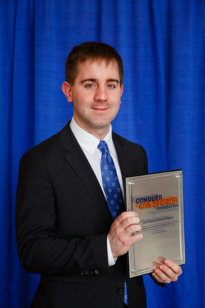2017 Young Investigator Award Recipient Andrew Brandmaier, MD, PhD during 2017 Grants & Awards Ceremony and Reception